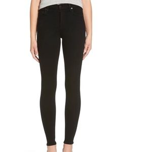 COH Rocket High Rise Skinny Jeans in Black Size 28